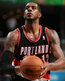 Mar 11, 2014, Portland Trail Blazers vs Memphis Grizzlies - LaMarcus Aldridge Photographic Print by Joe Murphy