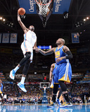 Jan 17, 2014, Golden State Warriors vs Oklahoma City Thunder - Kevin Durant Photographic Print by Layne Murdoch