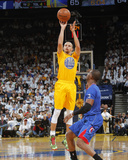 Dec 25, 2013, Los Angeles Clippers vs Golden State Warriors - Chris Paul, Stephen Curry Fotografiskt tryck av Rocky Widner