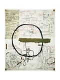 Jesse Giclee Print by Jean-Michel Basquiat