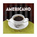Americano Dark Roast Prints by Anastasia Ricci