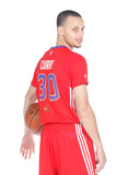 NBA All-Star Portraits 2014: Jan 27 - Stephen Curry Photographic Print by Rocky Widner