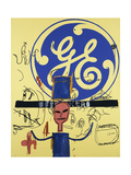 Untitled (General Electric II) Giclee Print by Jean-Michel Basquiat