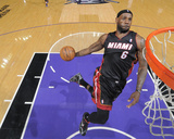 Dec 27, 2013, Miami Heat vs Sacramento Kings - LeBron James Photographic Print by Rocky Widner