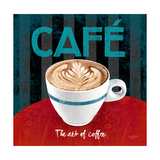 The Art of Coffee Prints by Anastasia Ricci