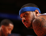 Jan 30, 2014, Clevseland Cavsaliers vs New York Knicks - Carmelo Anthony Photographic Print by Nathaniel S. Butler