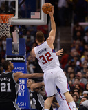Feb 18, 2014, San Antonio Spurs vs Los Angeles Clippers - Blake Griffin Photographic Print by Noah Graham