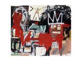 Utan titel Gicléetryck av Jean-Michel Basquiat