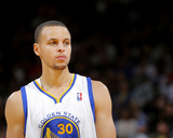 Jan 30, 2014, Los Angeles Clippers vs Golden State Warriors - Stephen Curry Photographic Print by Rocky Widner
