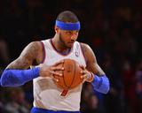 Jan 24, 2014, Charlotte Bobcats vs New York Knicks - Carmelo Anthony Photo af David Dow