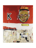 Two and a Half Hours of Chinese Food Giclee Print by Jean-Michel Basquiat