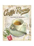 Caffe Roma Poster von Chad Barrett