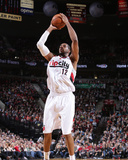 Mar 5, 2014, Atlanta Hawks vs Portland Trail Blazers - LaMarcus Aldridge Photographic Print by Sam Forencich