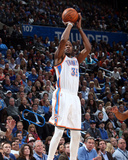 Feb 20, 2014, Miami Heat vs Oklahoma City Thunder - Kevin Durant Photographic Print by Layne Murdoch