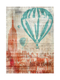 New York Travel Giclee Print by Ken Roko