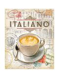 Café italiano Lámina giclée prémium por Chad Barrett