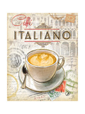 Caffe Italiano Giclee Print by Chad Barrett
