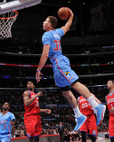 Feb 9, 2014, Philadelphia 76ers vs Los Angeles Clippers - Blake Griffin Photographic Print by Andrew Bernstein