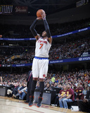 Mar 8, 2014, New York Knicks vs Clevseland Cavsaliers - Carmelo Anthony Photographic Print by Gregory Shamus