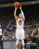 Jan 20, 2014, Indiana Pacers vs Golden State Warriors - Stephen Curry Fotografisk trykk av Rocky Widner