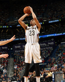 Mar 9, 2014, Denver Nuggets vs New Orleans Pelicans - Anthony Davis Photographic Print by Layne Murdoch