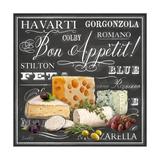 Gourmet Cheese Collection Kunstdrucke von Chad Barrett