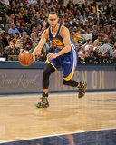 Mar 4, 2014, Golden State Warriors vs Indiana Pacers - Stephen Curry Photographic Print by Ron Hoskins