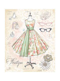 Vintage Boutique Premium Giclee Print by Chad Barrett