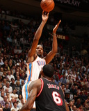 Jan 29, 2015, Oklahoma City Thunder vs Miami Heat - Kevin Durant Photographic Print by Issac Baldizon