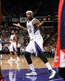 Mar 18, 2014, Washington Wizards vs Sacramento Kings - DeMarcus Cousins Photographic Print by Garrett Ellwood