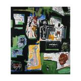 Uden titel Giclée-tryk af Jean-Michel Basquiat