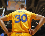 Dec 25, 2013, Los Angeles Clippers vs Golden State Warriors - Stephen Curry Fotografisk trykk av Rocky Widner