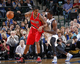 Mar 7, 2014, Portland Trail Blazers vs Dallas Mavericks - LaMarcus Aldridge Photo by Glenn James