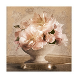Vintage Rose Kunst von Julie Greenwood