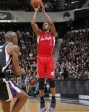 Nov 1, 2013, Los Angeles Clippers vs Sacramento Kings - Chris Paul Fotografisk trykk av Rocky Widner