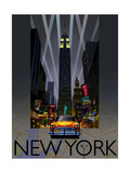 Night Out New York Prints by  Big Island Studios