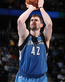 Mar 3, 2014, Minnesota Timberwolves vs Denver Nuggets - Kevin Love Photographic Print by Garrett Ellwood