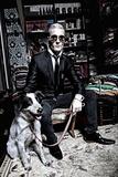 Lagerfeld's Secret Son Photographie par Leon Le Baron