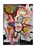 Donut Revenge Giclée-tryk af Jean-Michel Basquiat