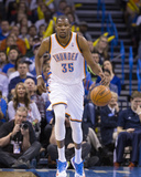 Feb 23, 2014, Los Angeles Clippers vs Oklahoma City Thunder - Kevin Durant Photographic Print by Richard Rowe