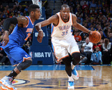 Feb 9, 2014, New York Knicks vs Oklahoma City Thunder - Kevin Durant Photo by Layne Murdoch