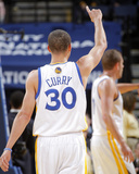 Feb 20, 2014, Houston Rockets vs Golden State Warriors - Stephen Curry Photographic Print by Rocky Widner