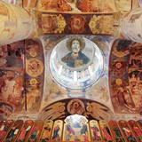 Cathedral of Holy Trinity (1658), Makaryev Monastery, Makaryevo, Nizhny Novgorod Region, Russia Fotografie-Druck von Ivan Vdovin