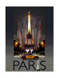 Paris Kiss Giclee Print
