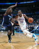 Mar 2, 2014, Charolette Bobcats vs Oklahoma City Thunder - Kevin Durant Photographic Print by Layne Murdoch