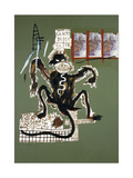 Sacred Ape Giclee Print by Jean-Michel Basquiat