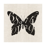 Butterfly Numbers Poster by Morgan Yamada