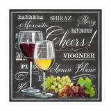 Gourmet Wine Selection Kunstdruck von Chad Barrett