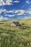Old Barn, Montana, Usa Fotodruck von Peter Adams