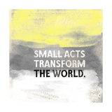 Small Acts Giclee Print by Evangeline Taylor